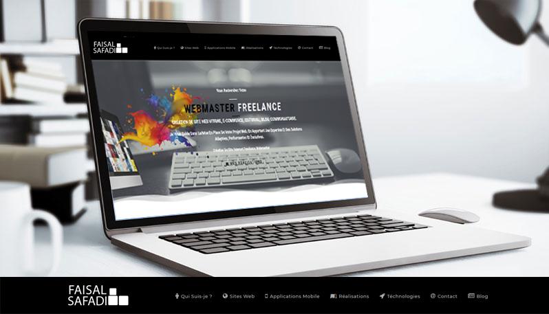 faisal safadi : Création de Site Web